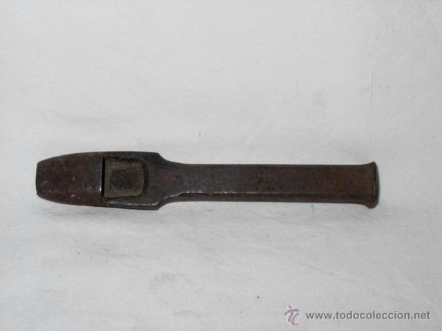 Antigüedades: LOTE GUARNICIONERÍA 16 HERRAMIENTAS PARA CUERO-SACABOCADOS-PUNZÓN-BURIl-SIGLO XIX-XX-BLANCHARD PARIS - Foto 13 - 52516109