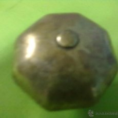Antigüedades: POMO TIRADOR BRONCE. Lote 52536892