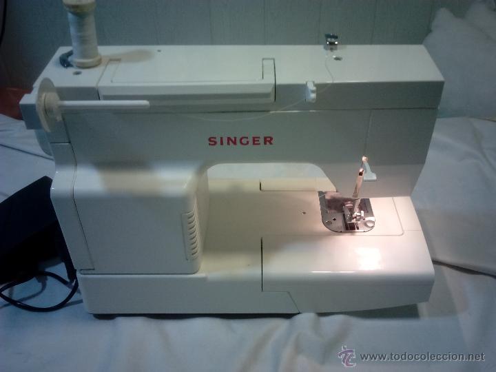 Antigüedades: Singer. maquina de coser. funciona - Foto 7 - 52539208