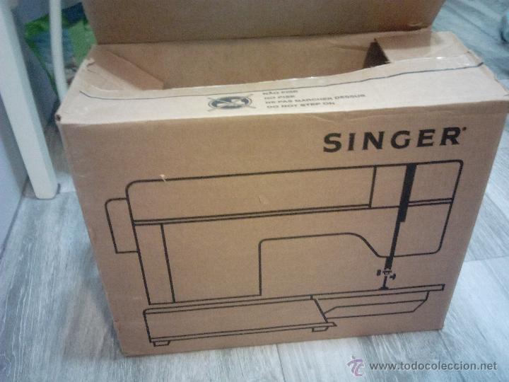 Antigüedades: Singer. maquina de coser. funciona - Foto 10 - 52539208