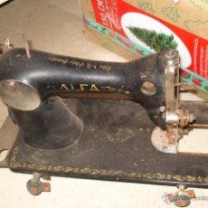 Antigüedades: MAQUINA DE COSER ALFA. Lote 52548649