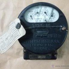 Antigüedades: CONTADOR ELÉCTRICO ANTIGUO SANGAMO VINTAGE. Lote 52567112