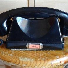 Teléfonos: TELEFONO SUPLETORIO DE SOBREMESA BAQUELITA NEGRO. Lote 52568232