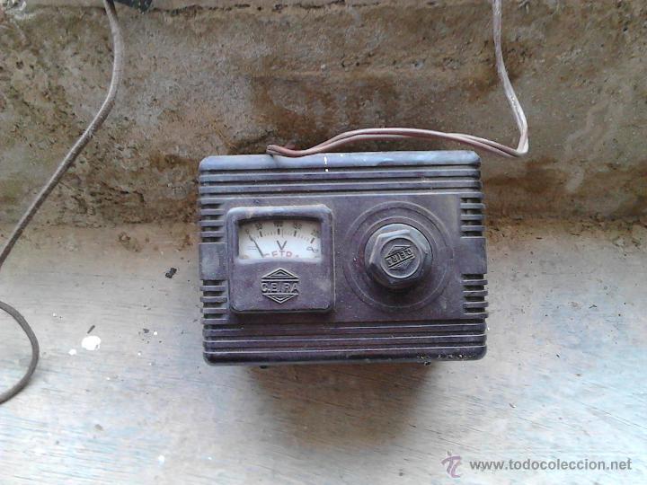 Antigüedades: aparatos medidores de voltaje - Foto 3 - 52600698