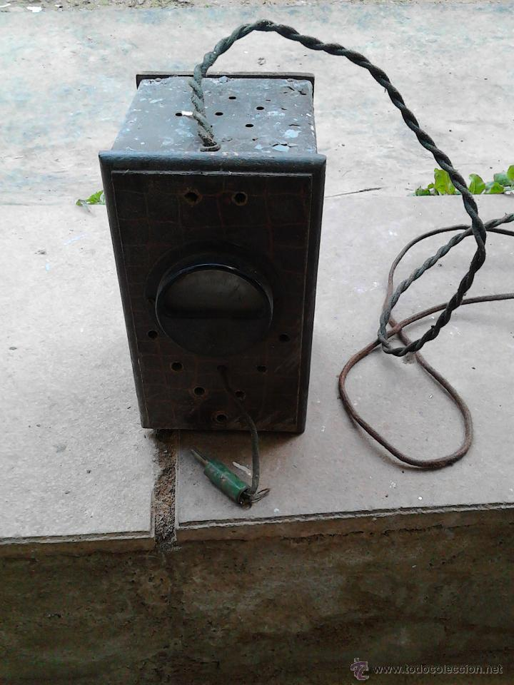 Antigüedades: aparatos medidores de voltaje - Foto 4 - 52600698