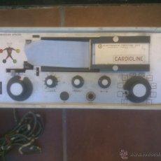 Antigüedades: ANTIGUO ELECTROCARDIOGRAFO PORTATIL.CARDIOLINE. Lote 107563128