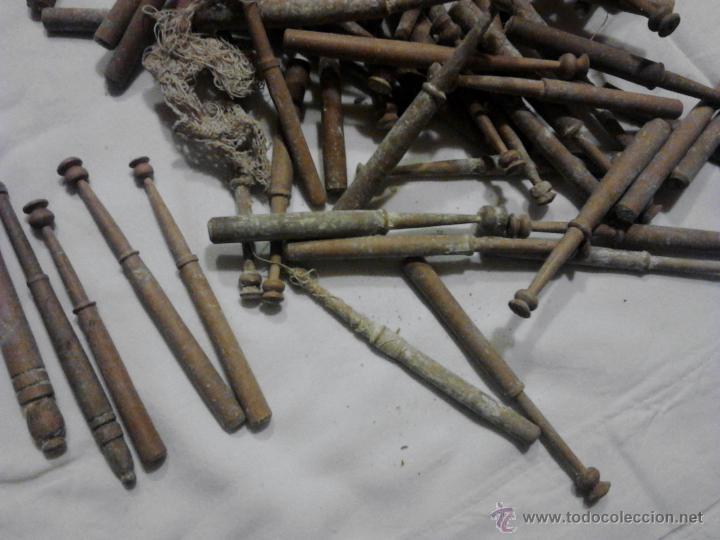 Antigüedades: LOTE DE BOLILLOS MUY ANTIGUOS - Foto 2 - 52638977