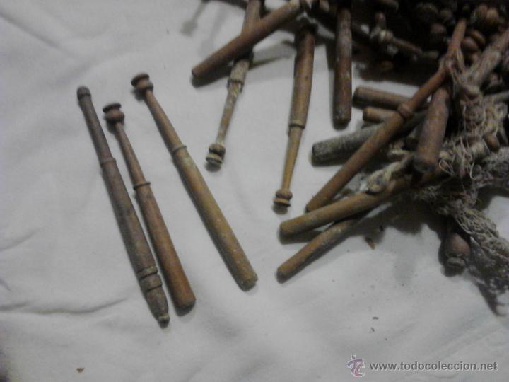 Antigüedades: LOTE DE BOLILLOS MUY ANTIGUOS - Foto 4 - 52638977