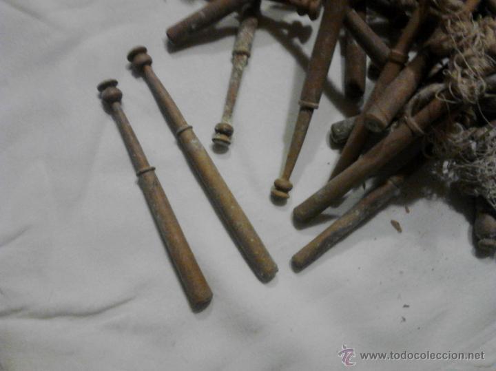 Antigüedades: LOTE DE BOLILLOS MUY ANTIGUOS - Foto 5 - 52638977