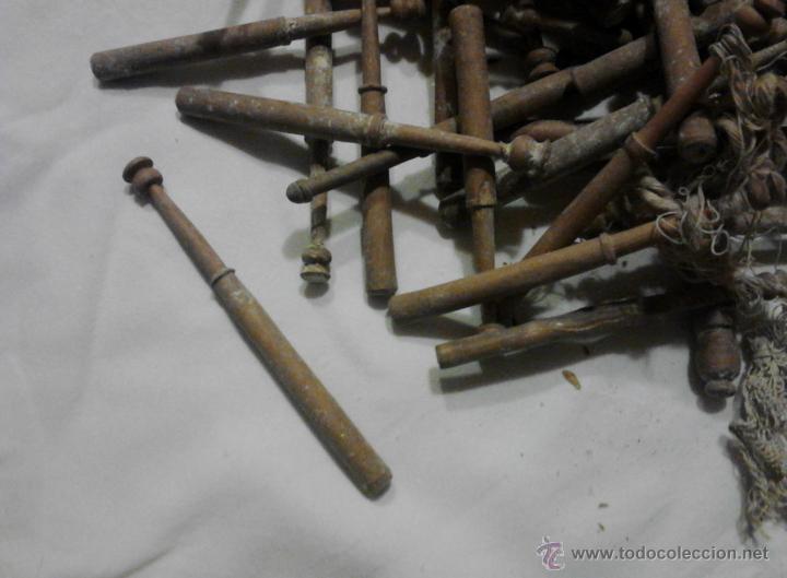 Antigüedades: LOTE DE BOLILLOS MUY ANTIGUOS - Foto 6 - 52638977