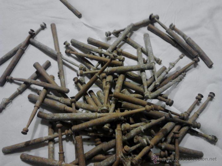 Antigüedades: LOTE DE BOLILLOS MUY ANTIGUOS - Foto 7 - 52638977