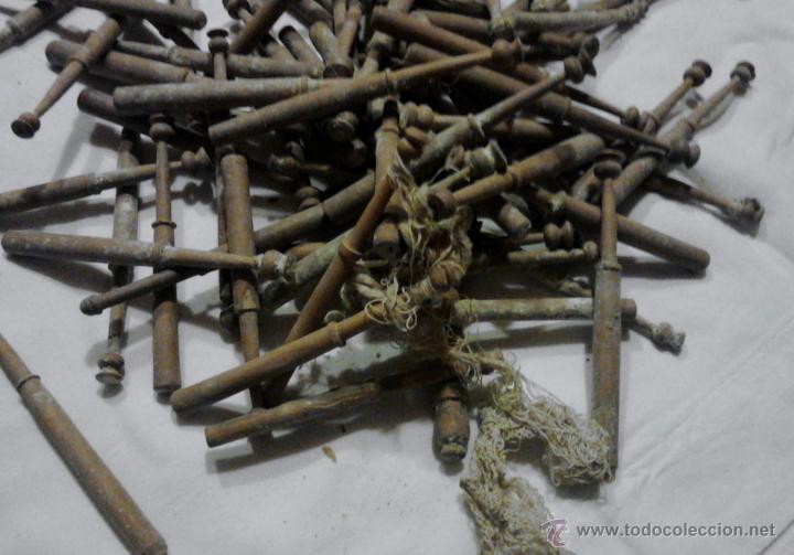 Antigüedades: LOTE DE BOLILLOS MUY ANTIGUOS - Foto 9 - 52638977