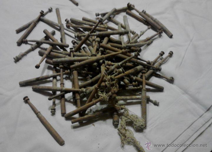 Antigüedades: LOTE DE BOLILLOS MUY ANTIGUOS - Foto 10 - 52638977