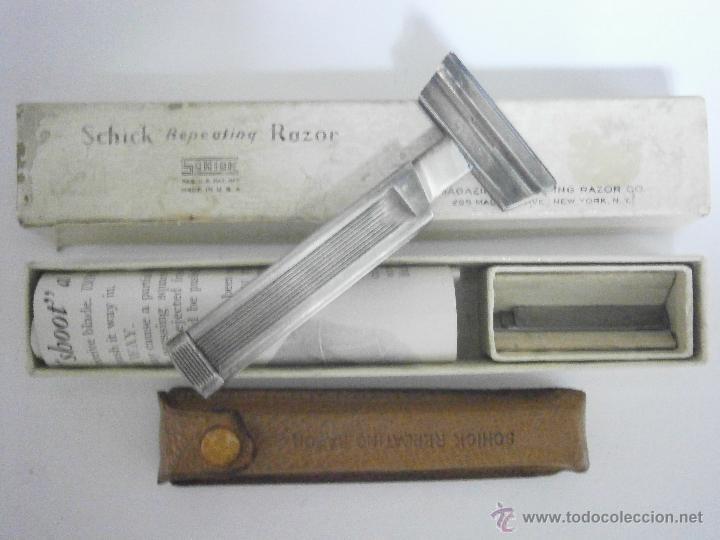 MAQUINILLA DE AFEITAR SCHICK B1 DE 1927 AL 1932 (Antigüedades - Técnicas - Barbería - Maquinillas Antiguas)