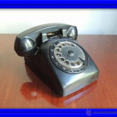 Teléfonos: ANTIGUO TELEFONO DE BAQUELITA ITALIANO. Lote 52695869