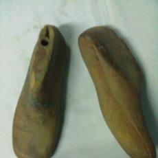Antigüedades: PAREJA HORMAS ZAPATOS. Lote 52711396