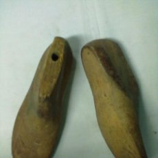 Antigüedades: PAREJA HORMAS ZAPATOS. Lote 52711480