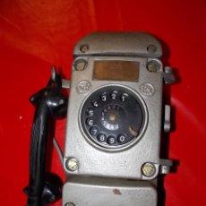 Teléfonos: ANTIGUO TELEFONO HIERRO PARA MINAS ESPAÑOL AÑOS 50/60 // MINA MINERO. Lote 52755889