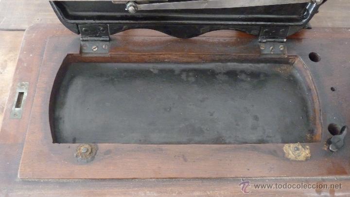 Antigüedades: MÁQUINA DE COSER JONES MACHINE.COMPLETA.EN MUY BUEN ESTADO - Foto 15 - 52763531