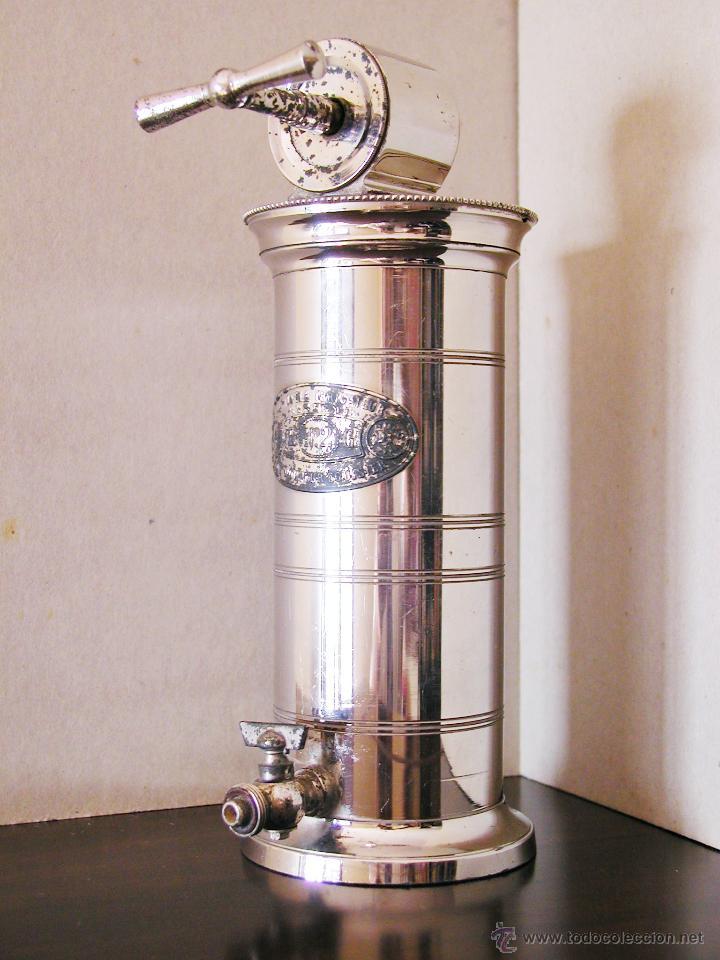 IRRIGADOR O DUCHA VAGINAL DE LA ALTA BURGUESÍA DEL S.XIX. DOCTOR EGUISIER. 1850. (Antigüedades - Técnicas - Herramientas Profesionales - Medicina)