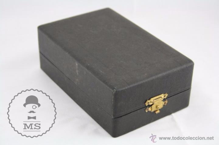 Antigüedades: Balanza Micrométrica para Pesar Tejidos, Papel, Cuero... - JBA - Medidas Caja 13 x 8,5 x 4,5 Cm - Foto 6 - 52785881