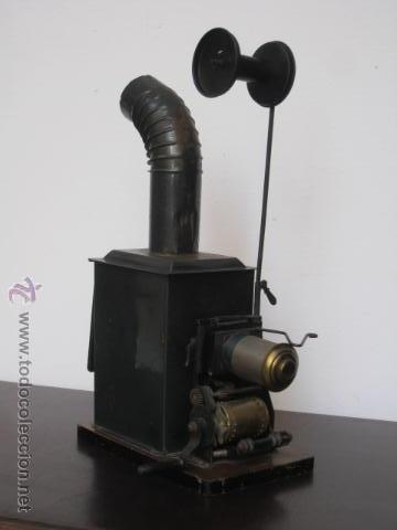 LINTERNA MAGICA Y PROYECTOR DE CINE BING, NUREMBERG, PPIOS 1900 (Antigüedades - Técnicas - Aparatos de Cine Antiguo - Linternas Mágicas Antiguas)