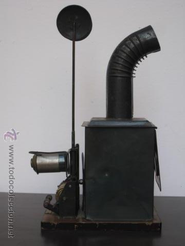 Antigüedades: LINTERNA MAGICA Y PROYECTOR DE CINE BING, NUREMBERG, PPIOS 1900 - Foto 7 - 52796100