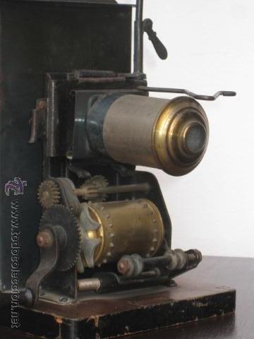 Antigüedades: LINTERNA MAGICA Y PROYECTOR DE CINE BING, NUREMBERG, PPIOS 1900 - Foto 9 - 52796100