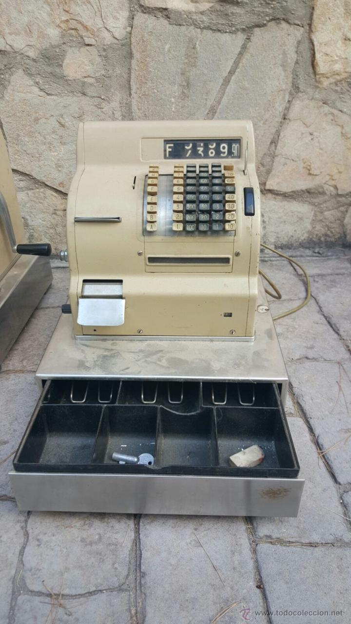 CAJA REGISTRADORA (Antigüedades - Técnicas - Aparatos de Cálculo - Cajas Registradoras Antiguas)