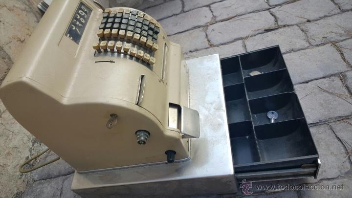 Antigüedades: caja registradora - Foto 2 - 52817790