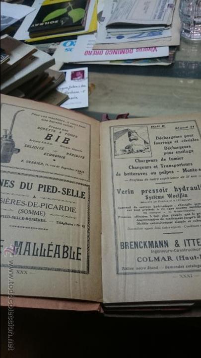 Antigüedades: CATALOGO DE MAQUINARIA AGRICOLA 9º SALON FRANCIA 1930 - Foto 2 - 52846301