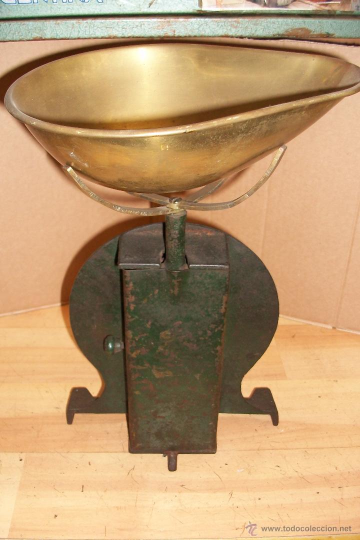 Antigüedades: ANTIGUA BASCULA INGLESA - Foto 5 - 32193777