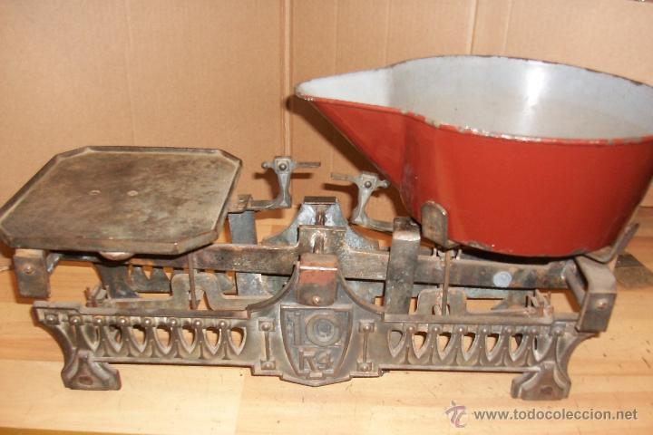 Antigüedades: BALANZA DE 10 KG - Foto 2 - 32199041