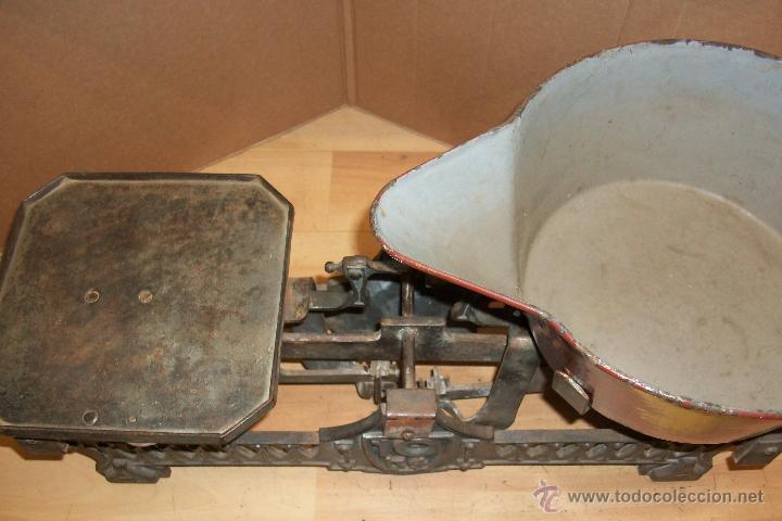 Antigüedades: BALANZA DE 10 KG - Foto 4 - 32199041