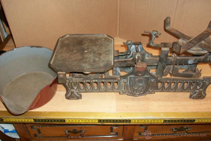 Antigüedades: BALANZA DE 10 KG - Foto 5 - 32199041