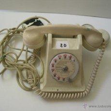 Teléfonos: TELEFONO FRANCES DE BAQUELITA BLANCA. Lote 52865450