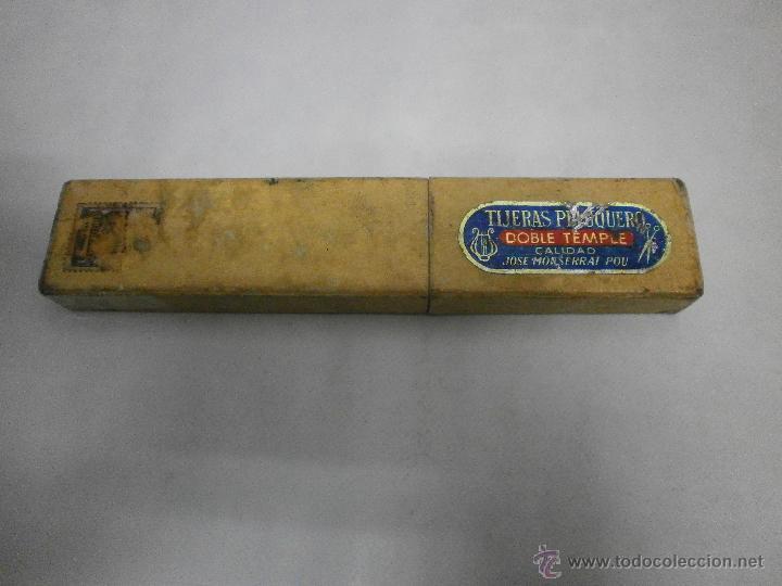 Antigüedades: NAVAJA DE AFEITAR JOSE MONSERRAT POU MEDALLON TAURINO14 DOMINGO FERMIÑAN CUCHILLERIA VACIADOR LERIDA - Foto 7 - 52939570