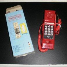 Teléfonos: TELÉFONO DE PARED. CON TECLAS, ROJO, AÑOS 70/80. NUEVO Y EN CAJA. Lote 52973317