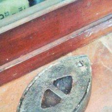 Antigüedades: ANTIGUA PLANCHA. ASAS INTERCAMBIALES LOGITUD DE PLANCHA 16 CM. SIN ASA. Lote 52999400