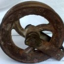 Antigüedades: ANTIGUA GARRUCHA EN HIERRO.. Lote 31231045