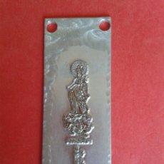 Antigüedades: CLICHE DE IMPRENTA. RECUERDO DE TEJAR. 8 X 3 CM.. Lote 53077453