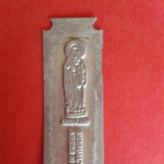 Antigüedades: CLICHE DE IMPRENTA. REC. DE CAMARENA DE LA SIERRA. TERUEL. 2,5 X 8 CM.. Lote 53077797