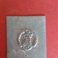 Antigüedades: CLICHE DE IMPRENTA. REC. DE BRONCHALES. TERUEL. 4 X 5 CM.. Lote 53077815