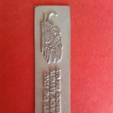 Antigüedades: CLICHE DE IMPRENTA. REC. DE LA VALL D'UIXÓ. CASTELLON. 2 X 7 CM.. Lote 53077933