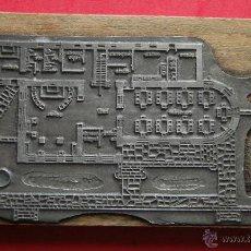 Antigüedades: ANTIGUO SELLO O PLANCHA DE IMPRENTA. Lote 53091767
