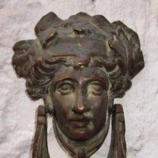Antigüedades: FANTASTICO LLAMADOR BRONCE ANTIGUO IMPERIO ORIGINAL CIRCA 1840 . Lote 53114656