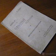 Antigüedades: LIBRO N. ALCAYDE REGLA DE CÁLCULO DE BOLSILLO 1.911 MODELO DE LA ACADEMIA DE INGENIEROS DEL EJÉRCITO. Lote 53134671