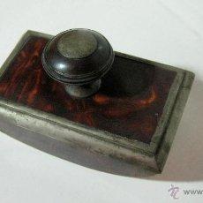 Antiquités: ANTIGUO SECANTE EN CONCHA TORTUGA. Lote 53198344