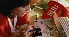 Teléfonos: CONTESTADOR AUTOMATICO TELEFONICA VINTAGE 80s - DOBLE CINTA CASSETTE - EN PELICULAS PEDRO ALMODOVAR - Foto 2 - 26309595