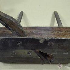 Antigüedades: ANTIGUA GARLOPA DE CARPINTERO HECHA EN FRANCIA SXIX. Lote 53271027